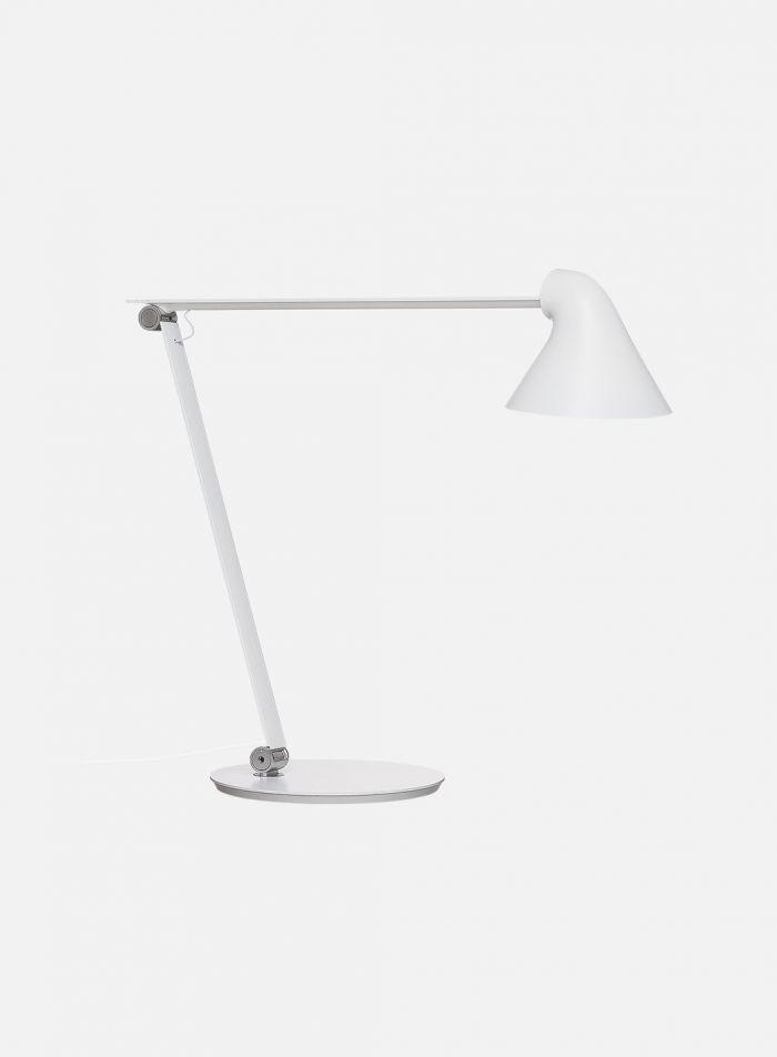 NJP bordlampe 2700k - hvit