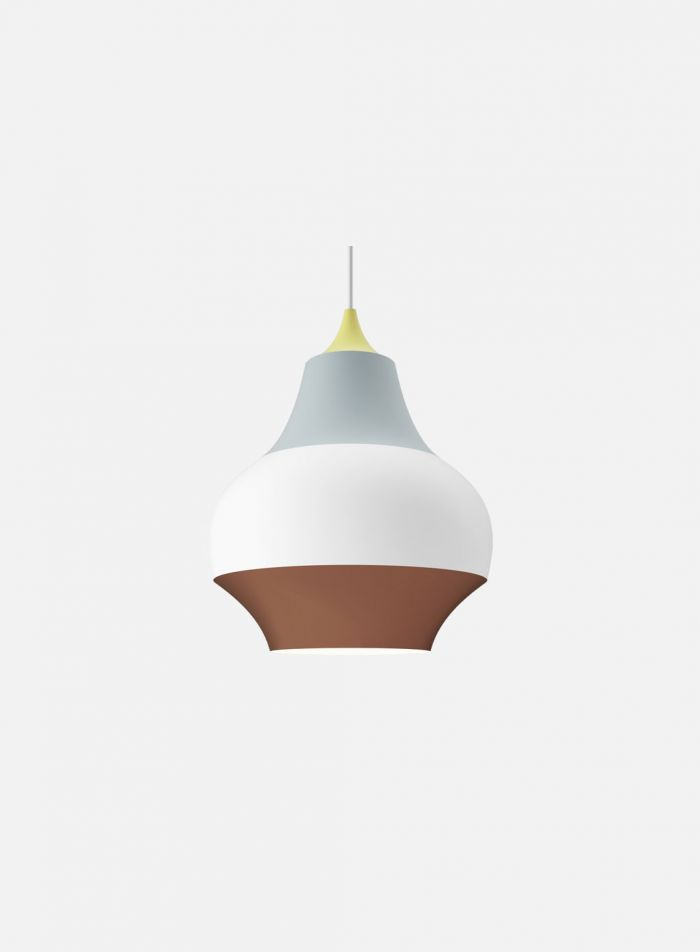 Cirque taklampe ø22 - gul topp