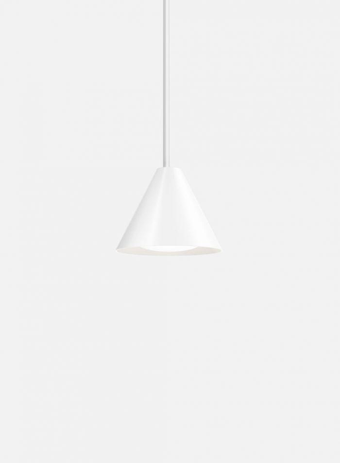 Keglen taklampe Ø17,5 - hvit