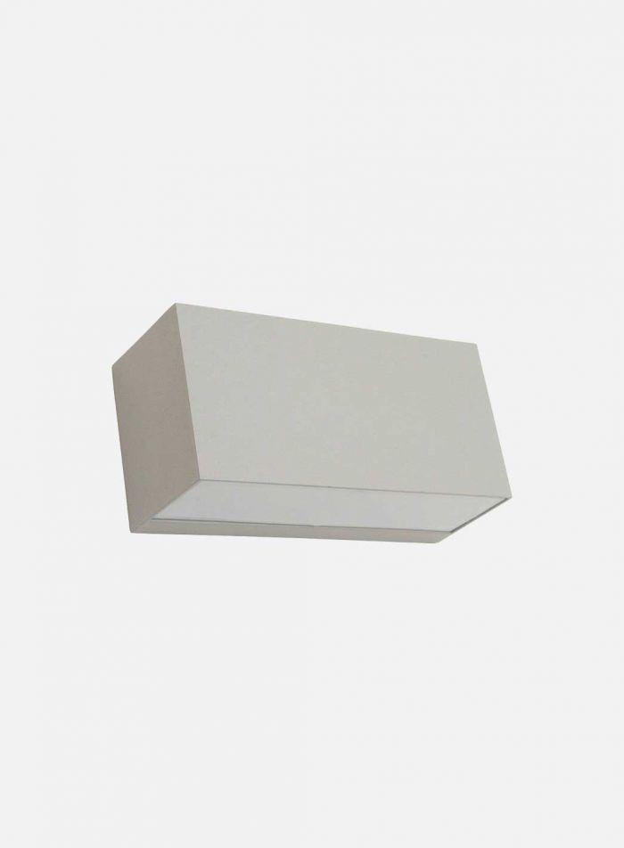 Asker 1514 utelampe - aluminium