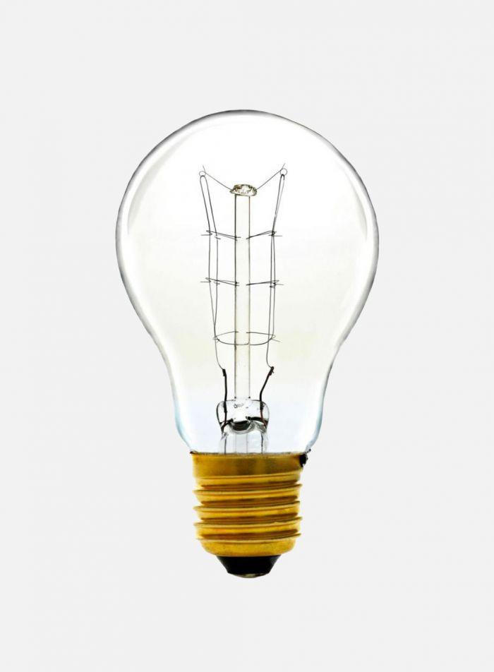 Glødepære Normalfasong E27 60W - klar