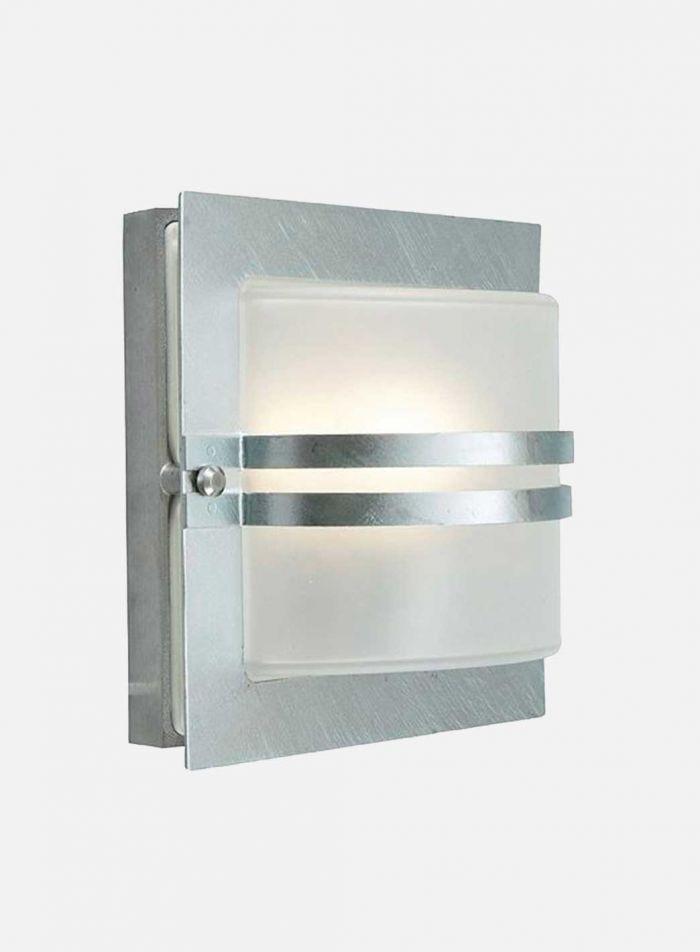 Bern 651 utelampe - galvanisert stål