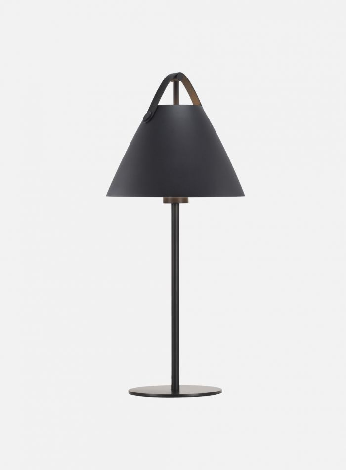 Strap bordlampe H55 - sort