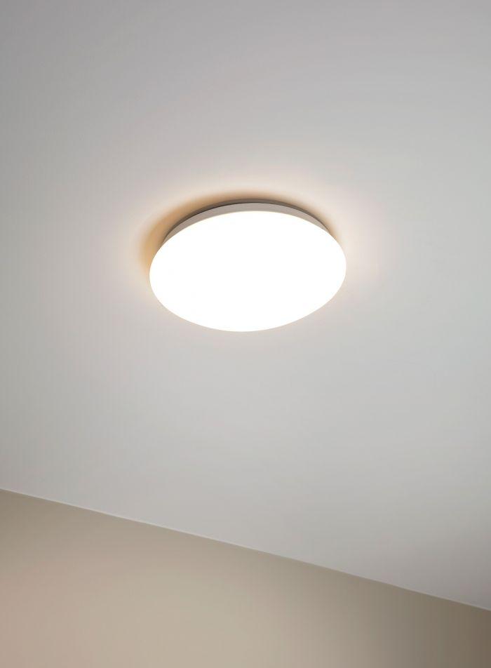 Girne taklampe - hvit