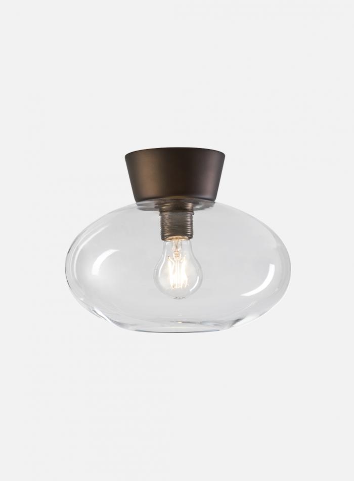 Bullo taklampe - oxid/klar