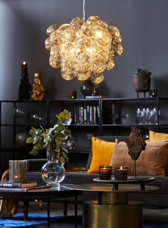 Gross taklampe - amber