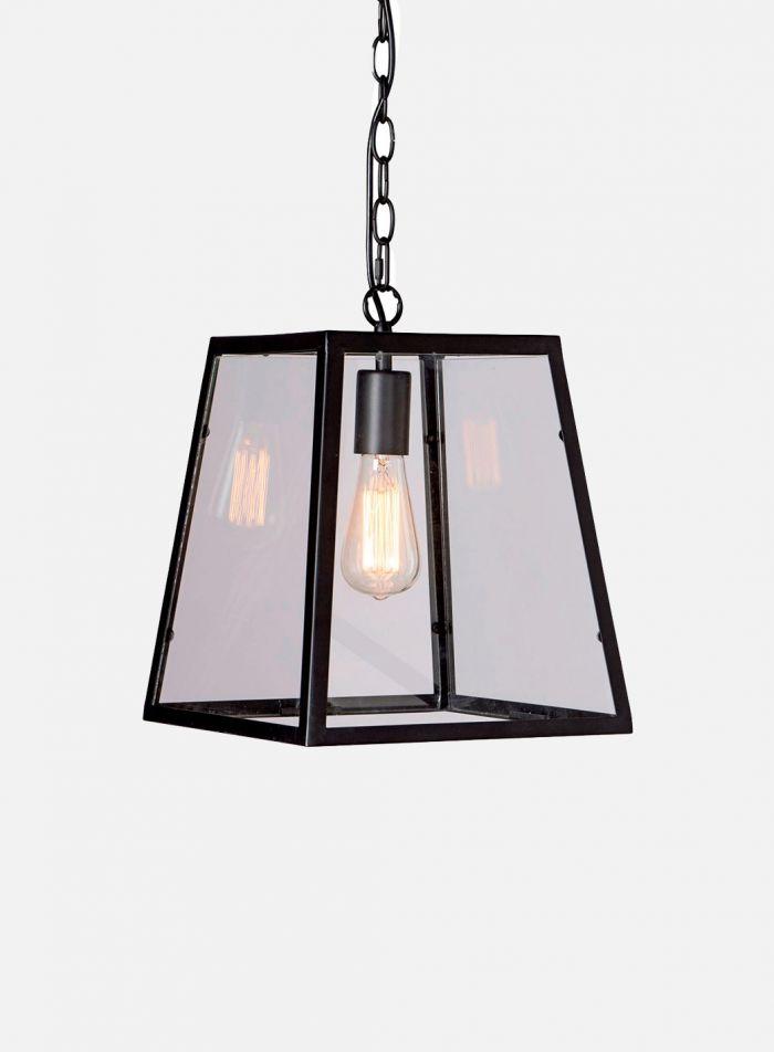 Dovre taklampe pendel - sort/klar