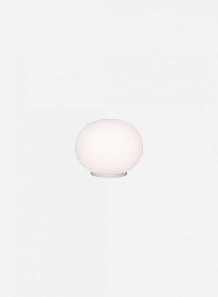Mini Glo-Ball T bordlampe - hvit