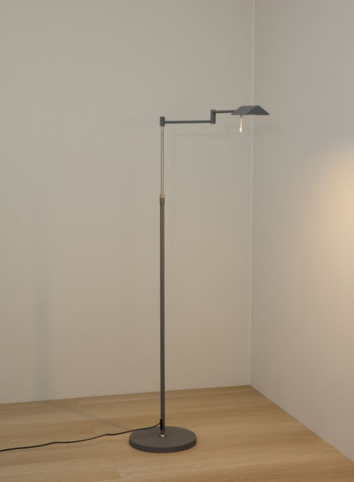 Canton gulvlampe - grå