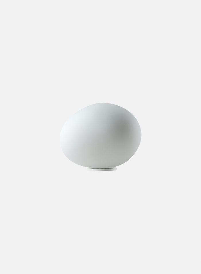 Gregg Midi LED bordlampe - messing/opal