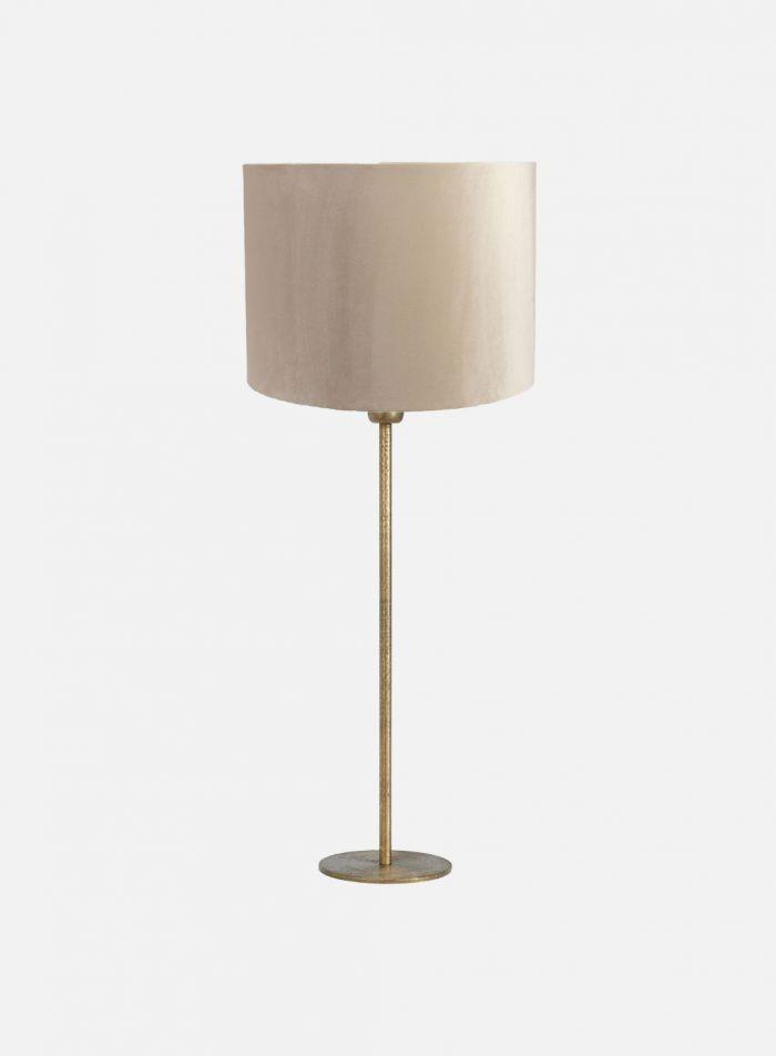 Base bordlampe H55 - matt gull
