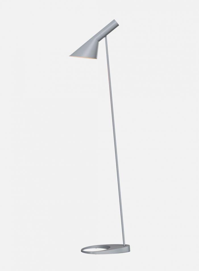 Aj gulvlampe - lys grå