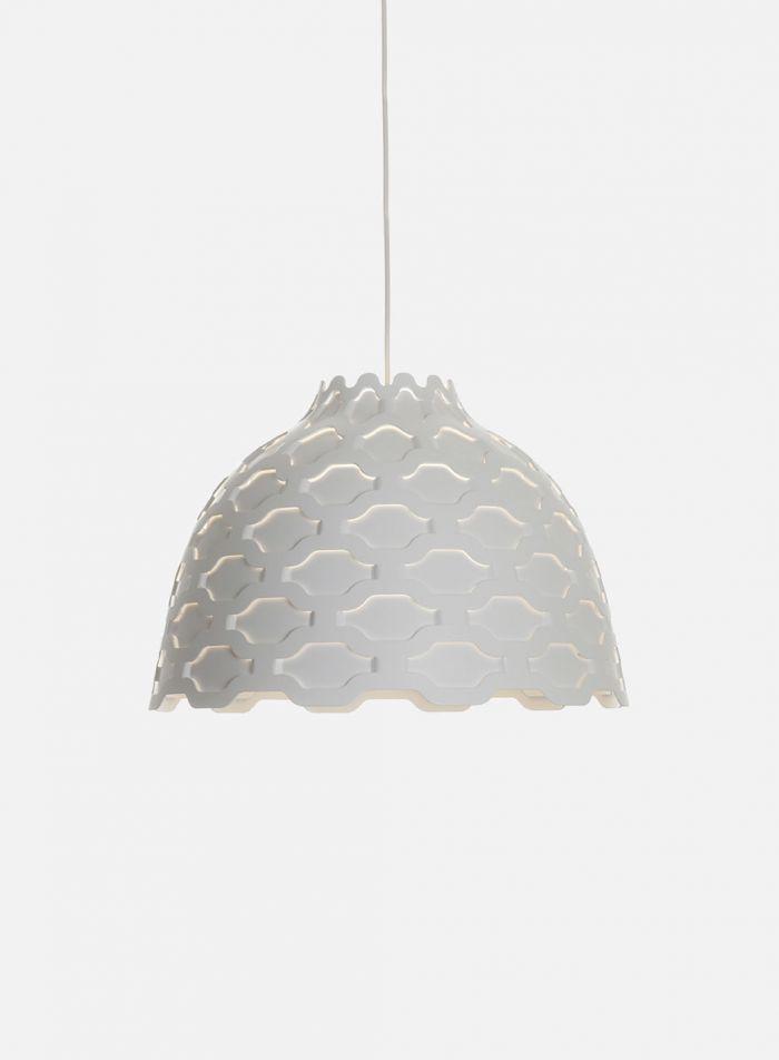 LC Shutters taklampe - hvit