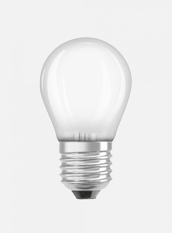 LED-pære Krone E27 4W - matt