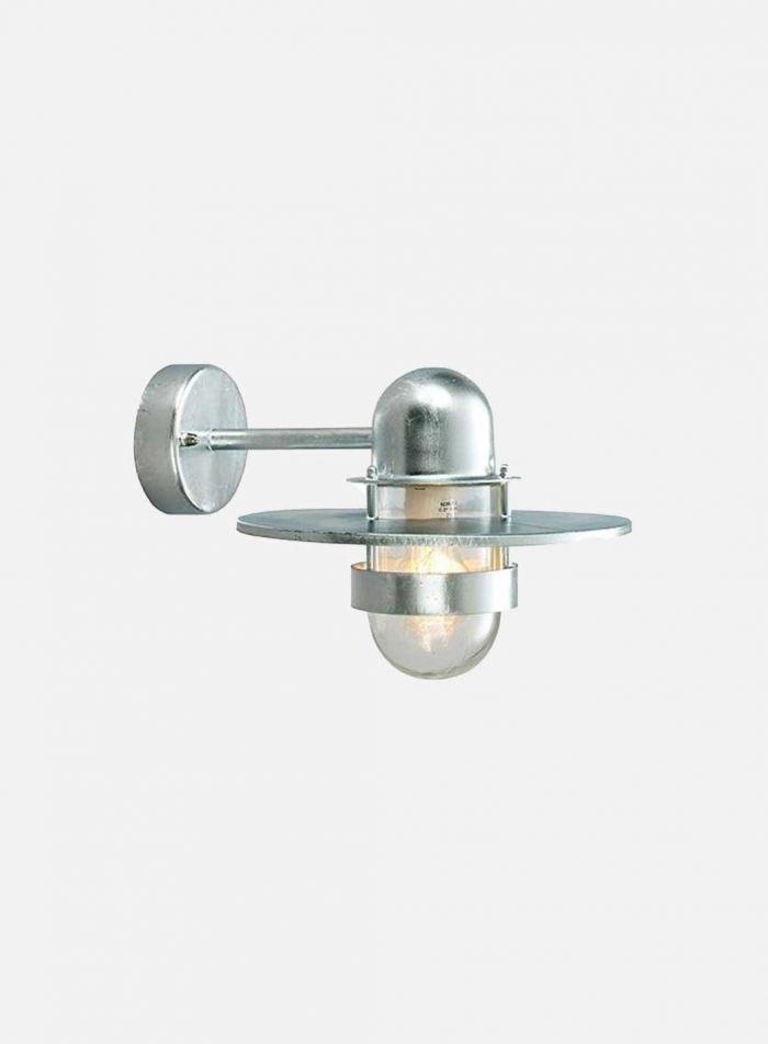 Bergen 270 utelampe - galvanisert stål