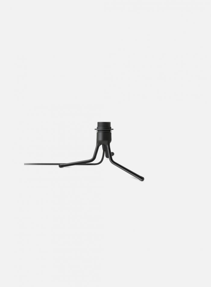 Tripod mini bordlampe - sort