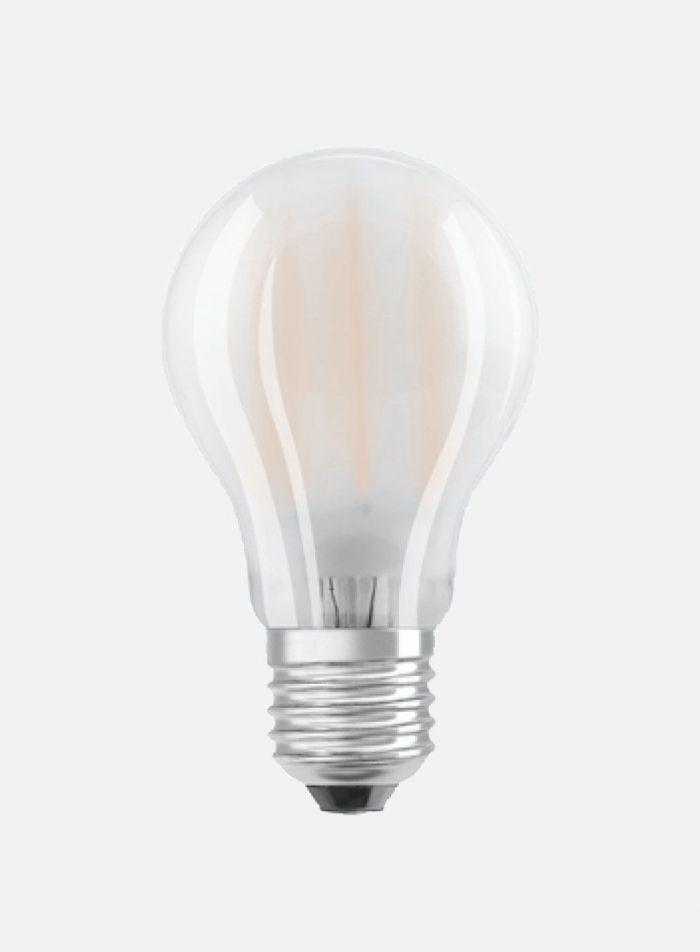 LED-pære Normalfasong E27 8,5W dimbar - matt