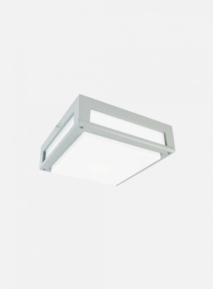 Nordland 718 utelampe - aluminium
