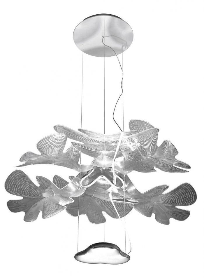 Chlorophilia taklampe - krom