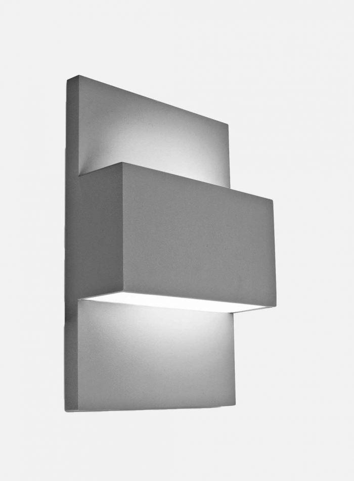 Geneve 874 utelampe - grafittgrå