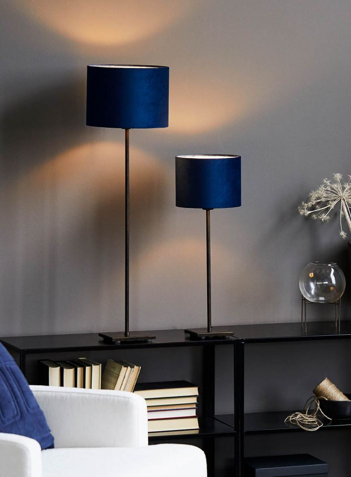 Kung bordlampe H46 - brun