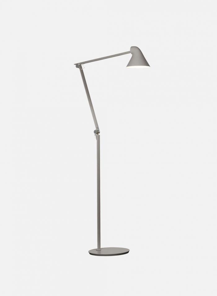 NJP gulvlampe 2700k - lys grå