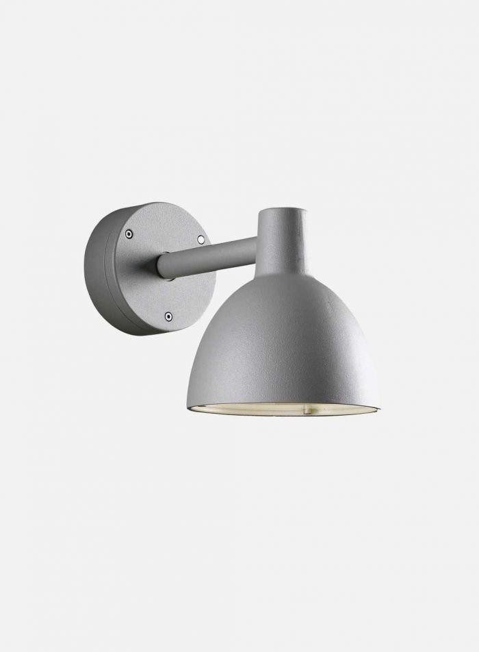 Toldbod 155 utelampe vegg - aluminium