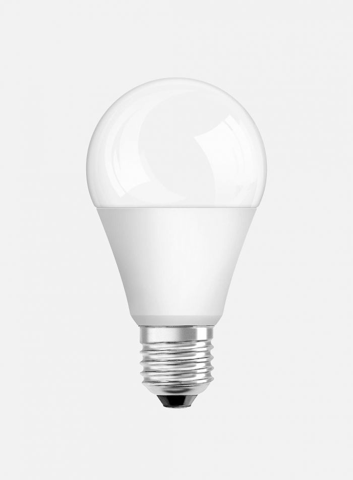 LED-pære Normalfasong E27 12W - matt