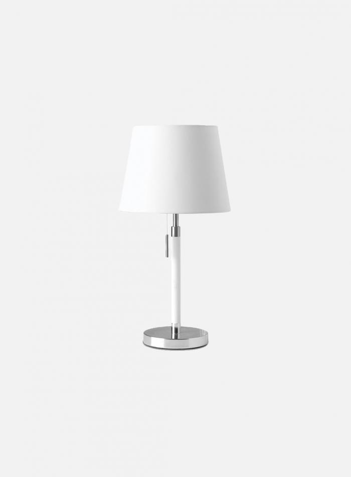 Venice bordlampe - hvit