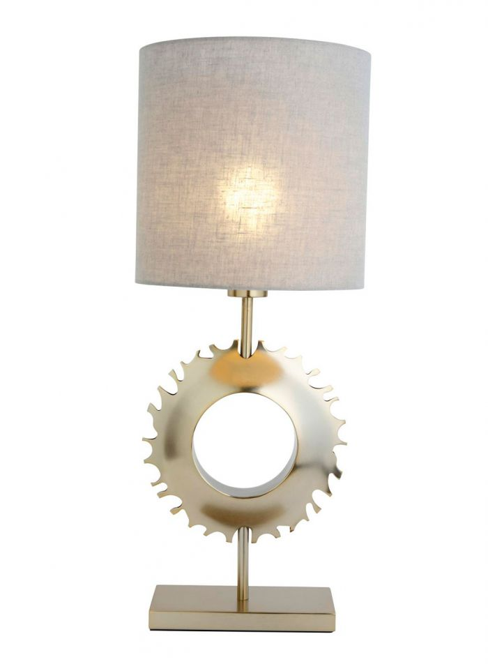 Sunny bordlampe - matt messing