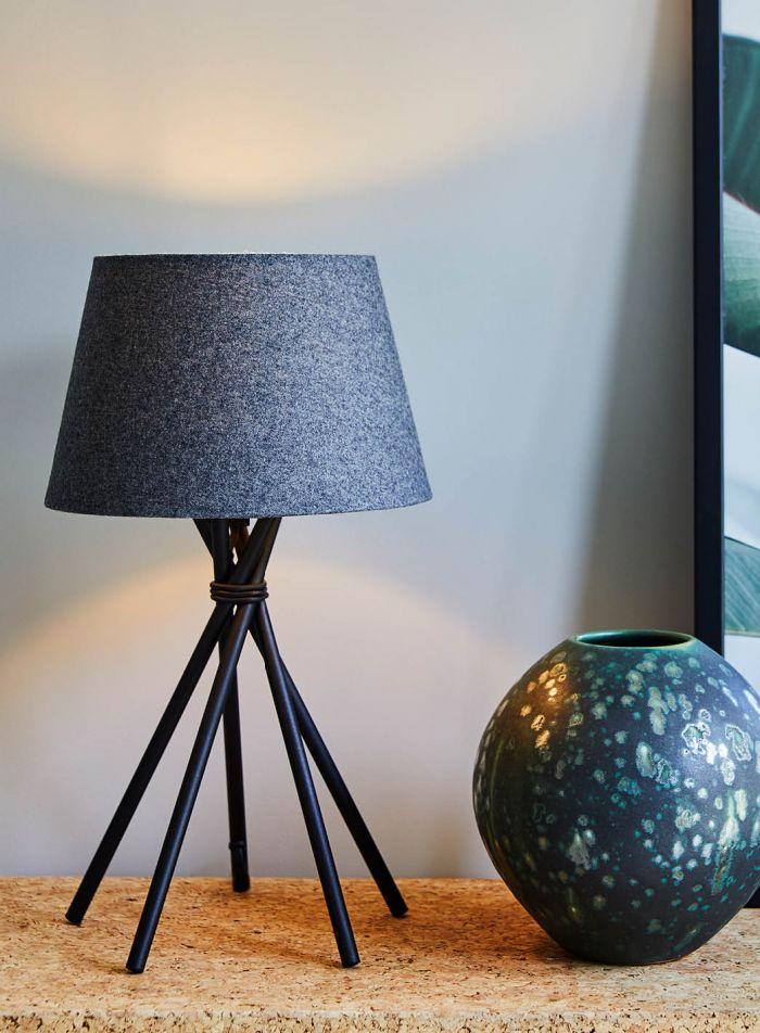 Aksel bordlampe - sort