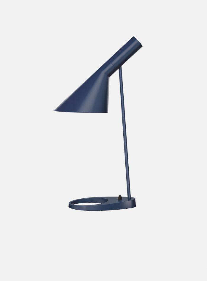 AJ bordlampe - blå