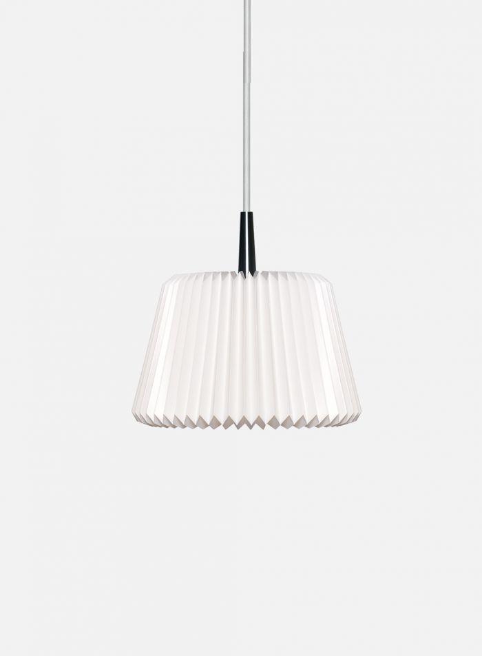 Snowdrop taklampe Ø20 - hvit/grå