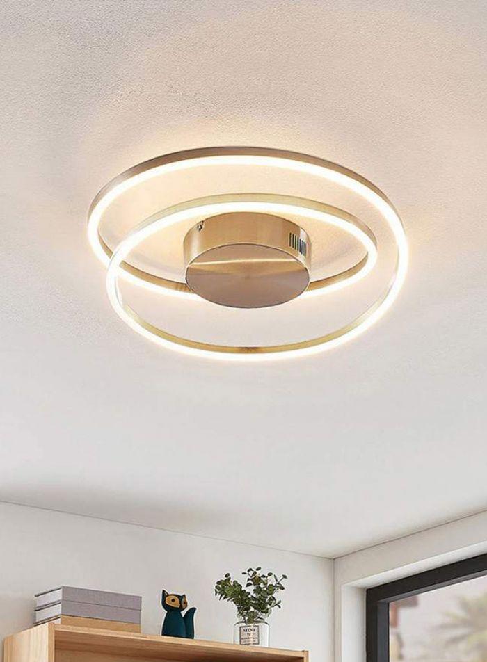 Davian taklampe plafond - aluminium