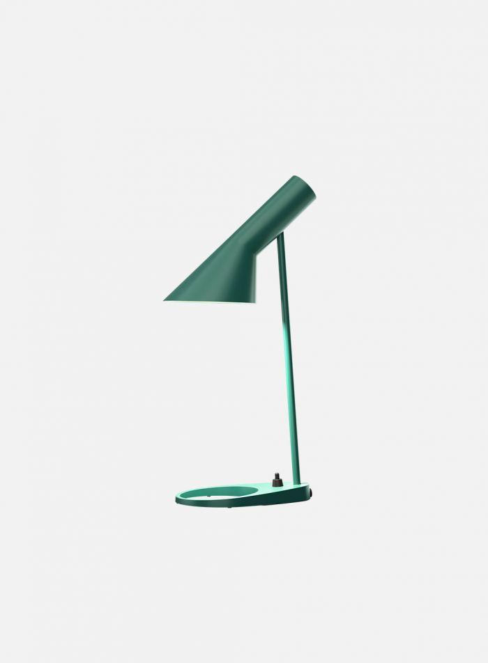 AJ mini bordlampe - mørk grønn