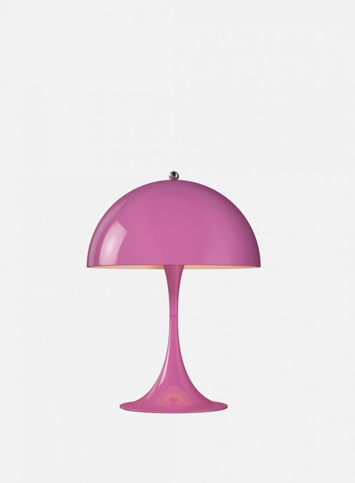 Panthella mini bordlampe - rosa