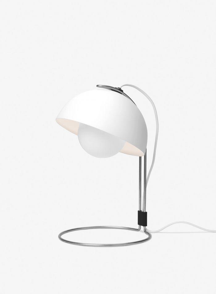 Flowerpot VP4 bordlampe H36 - matt hvit