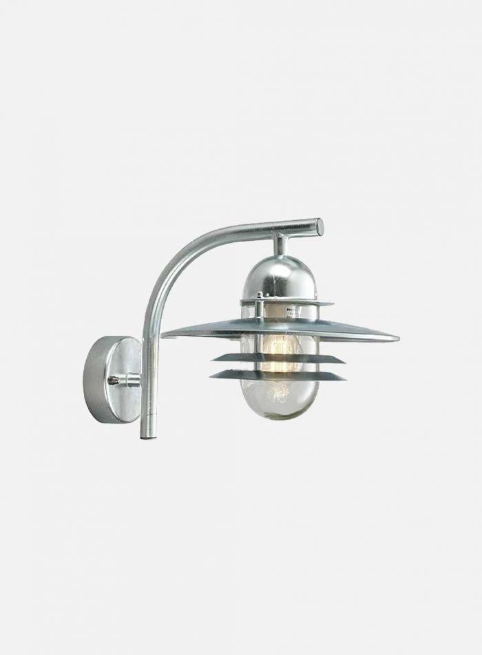 Oslo 240 utelampe - galvanisert stål