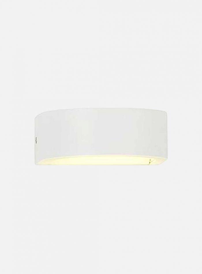 Holme utelampe - hvit