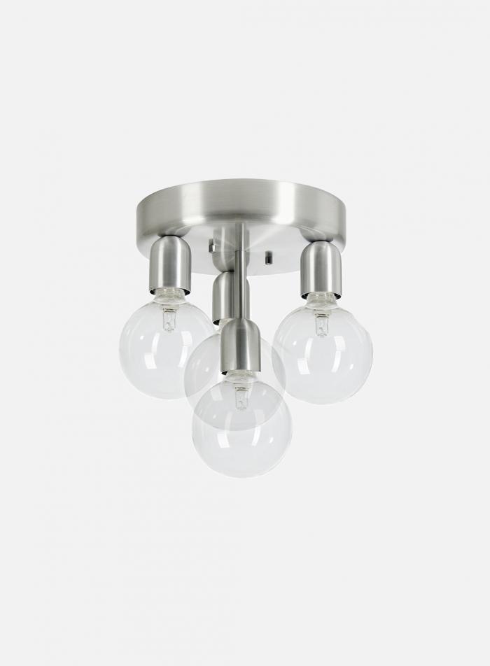 Regal taklampe 4 lys - aluminium