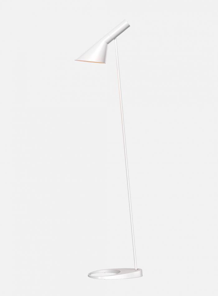 AJ gulvlampe - hvit