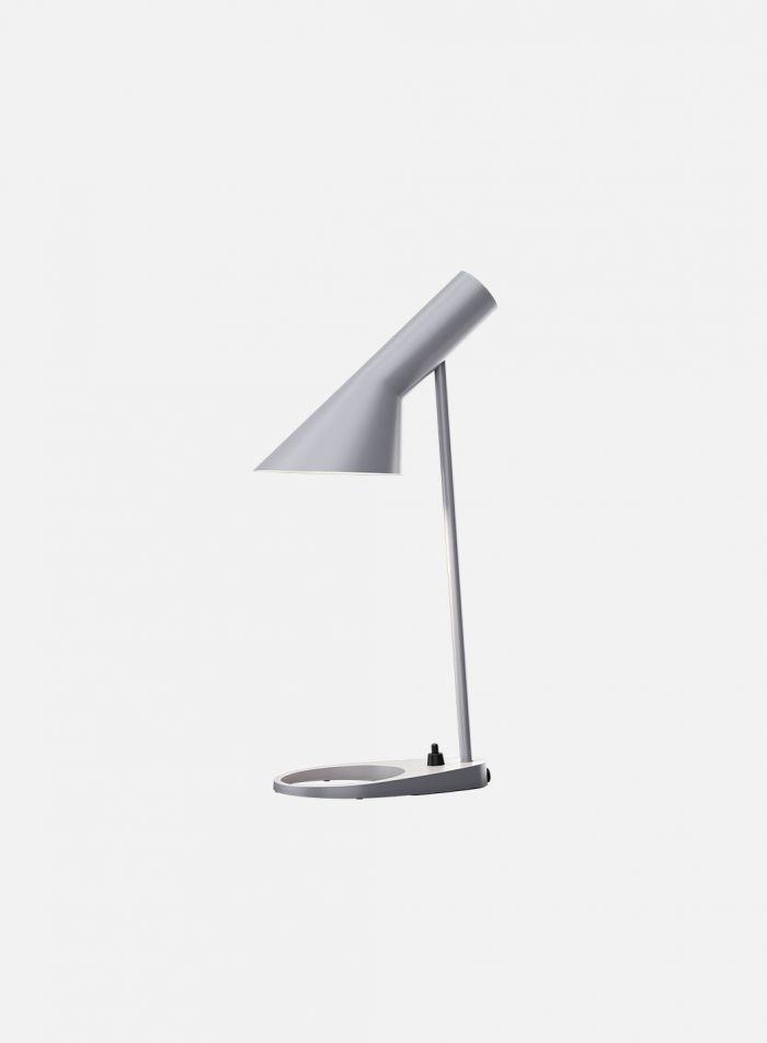 AJ mini bordlampe - lys grå