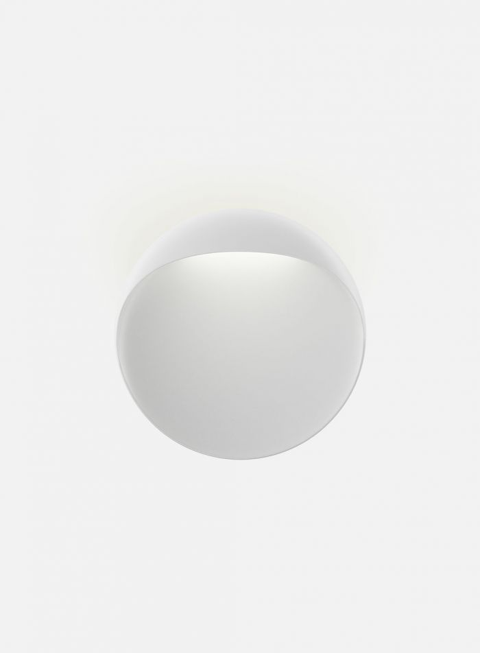 Flindt utelampe Ø30 cm - hvit