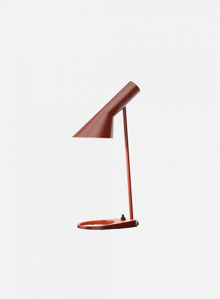 AJ mini bordlampe - rustrød