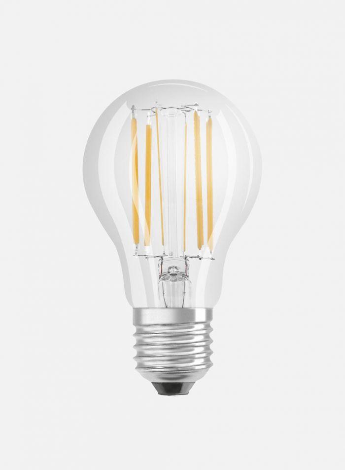 LED-pære 8.5 watt. dimbar - klar