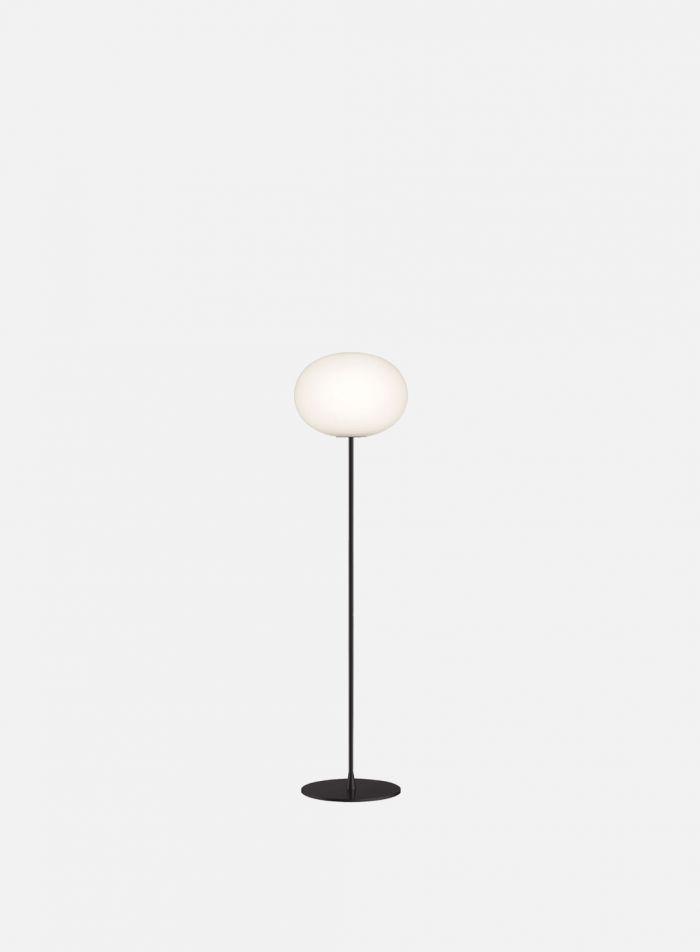 Glo-Ball F1 gulvlampe - sort