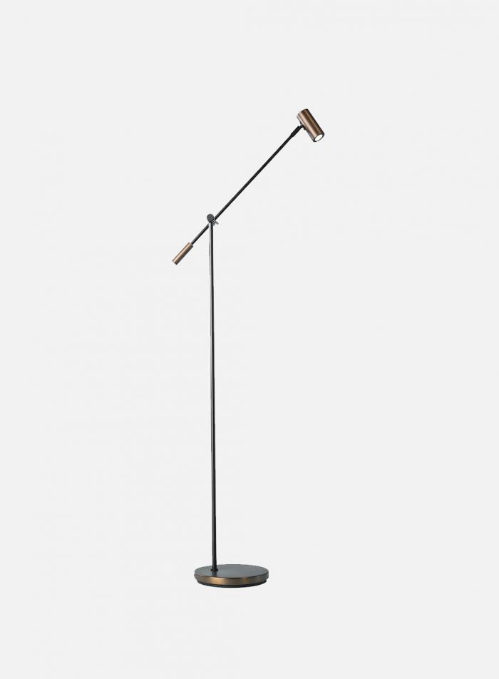 Cato LED gulvlampe - oxid