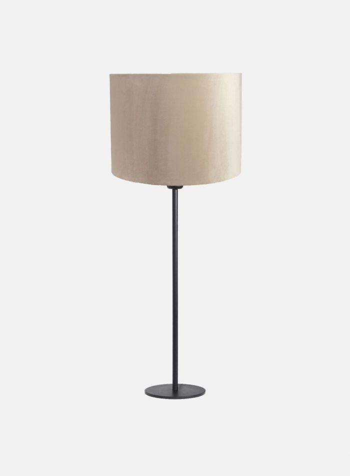 Base bordlampe H55 - matt sort