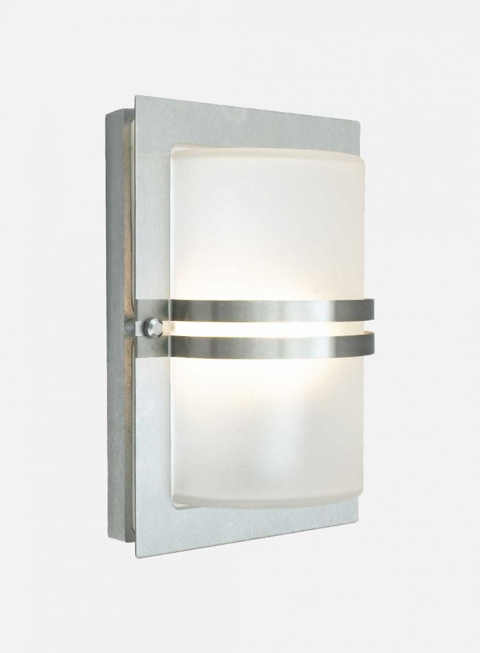 Basel 661 utelampe - stål