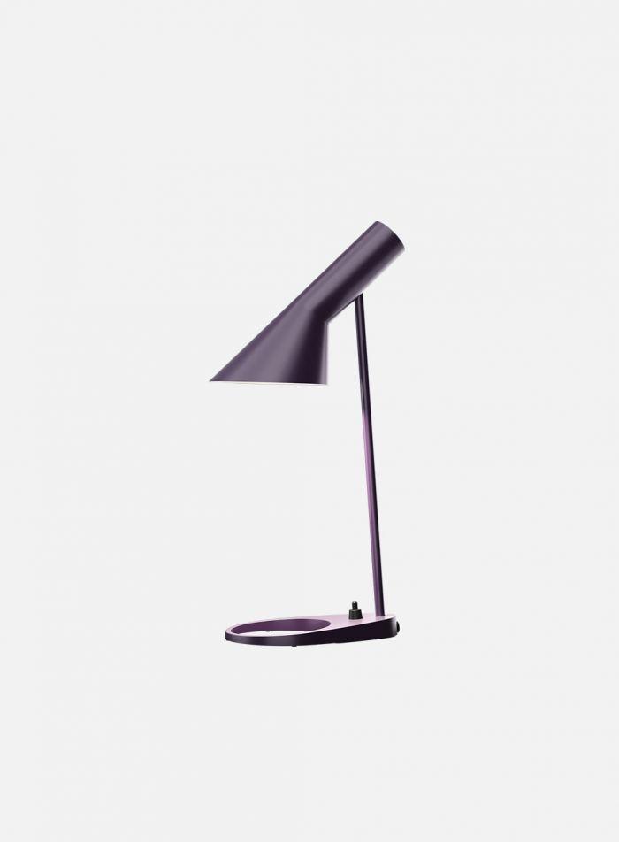 AJ mini bordlampe - aubergine